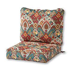 greendale home fashions® Asbury 2-Piece Outdoor Deep Seat Cushion Set