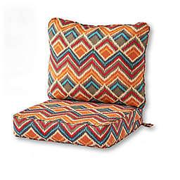 greendale home fashions® Surreal 2-Piece Outdoor Deep Seat Cushion Set