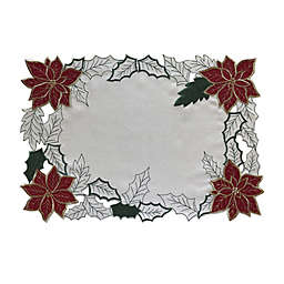 Woodland Poinsettia Placemat