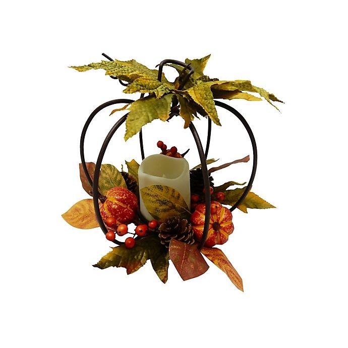 Alternate image 1 for Elements LED Pumpkin Centerpiece