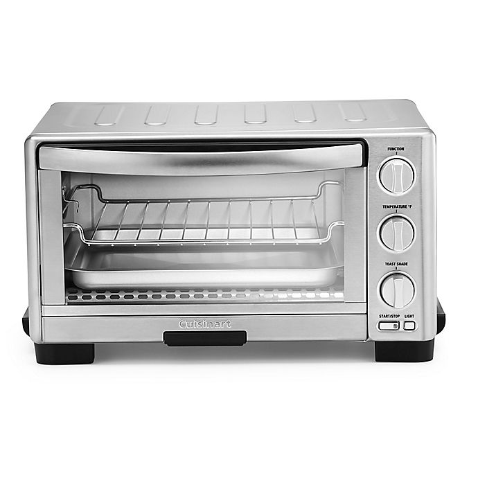 Alternate image 1 for Cuisinart Toaster Oven Broiler with Interior Light in Silver