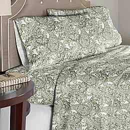Pointehaven Boho Paisley 200-Thread-Count Sheet Set
