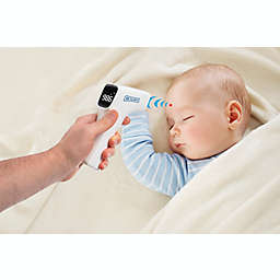 Non-Contact Digital Infrared Thermometer with Handle in White