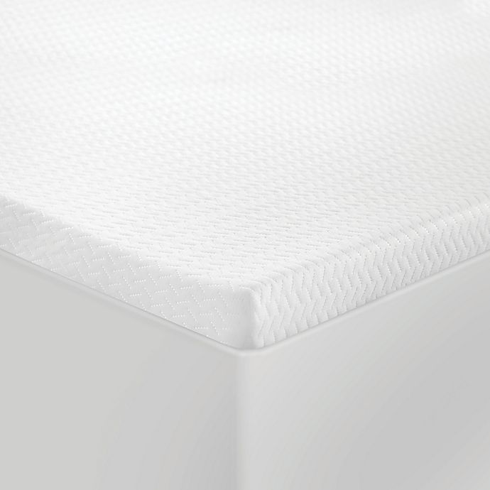 Alternate image 1 for SensorPEDIC 1.5-Inch Coolest Comfort Memory Foam California King Mattress Topper