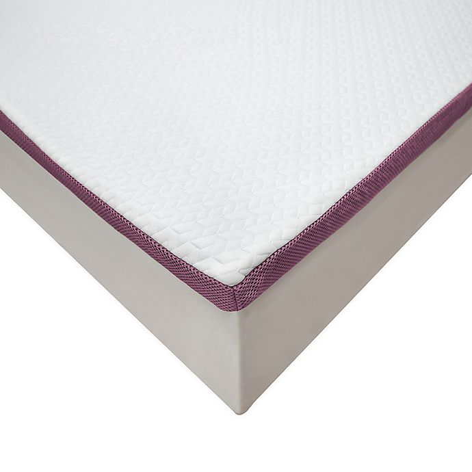 Alternate image 1 for SensorPEDIC 2-Inch Advanced Cool Transcend Memory Foam King Mattress Topper