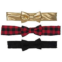 So' Dorable 3-Pack Holiday Headbands