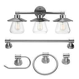Globe Electric Nate 5-Piece All-in-1 Bathroom Set