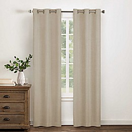 Wamsutta® Collective Asher Cotton Chambray Grommet Blackout Window Curtain Panel