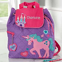 Stephen Joseph® Unicorn Embroidered Kid's Backpack in Purple