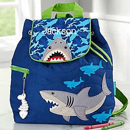 Stephen Joseph® Shark Embroidered Kid's Backpack in Blue