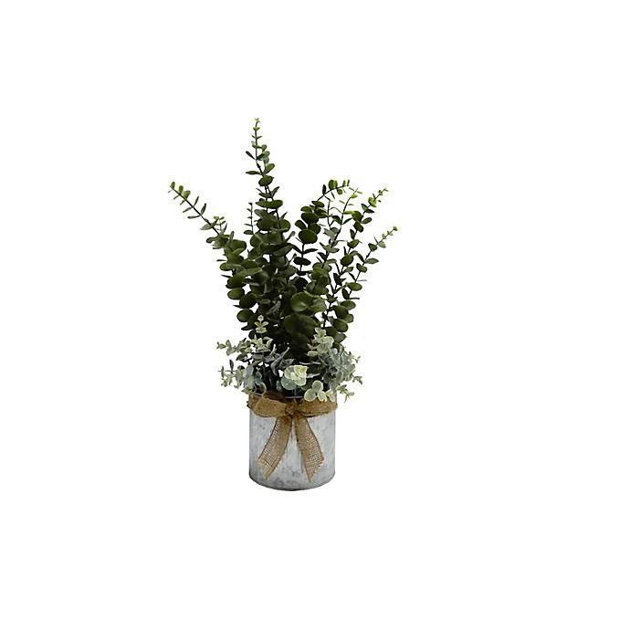 Alternate image 1 for Elements 23-Inch Euclayptus Arrangement in Tin Container