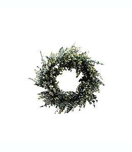 Corona de eucalipto de plástico Elements de 58.42 cm