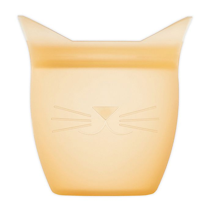 Alternate image 1 for Zip Top Cat Baby Snack Container