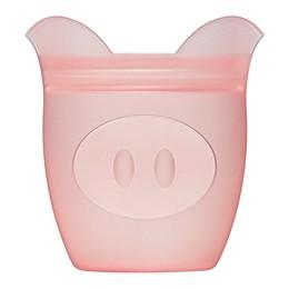 Zip Top Pig Baby Snack Container