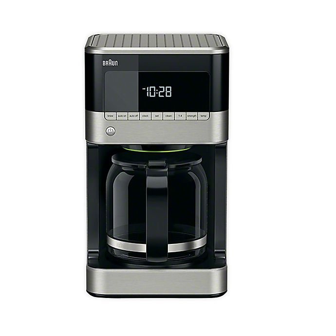 Alternate image 1 for Braun® BrewSense 12 Cup Drip Coffee Maker in Black