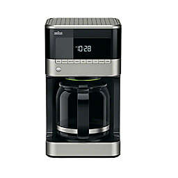 Braun® BrewSense 12 Cup Drip Coffee Maker in Black