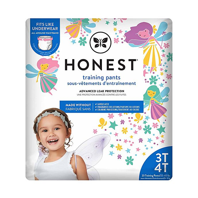 Alternate image 1 for Honest Size 3-4T 23-Pack Training Pants in Fairy Pattern