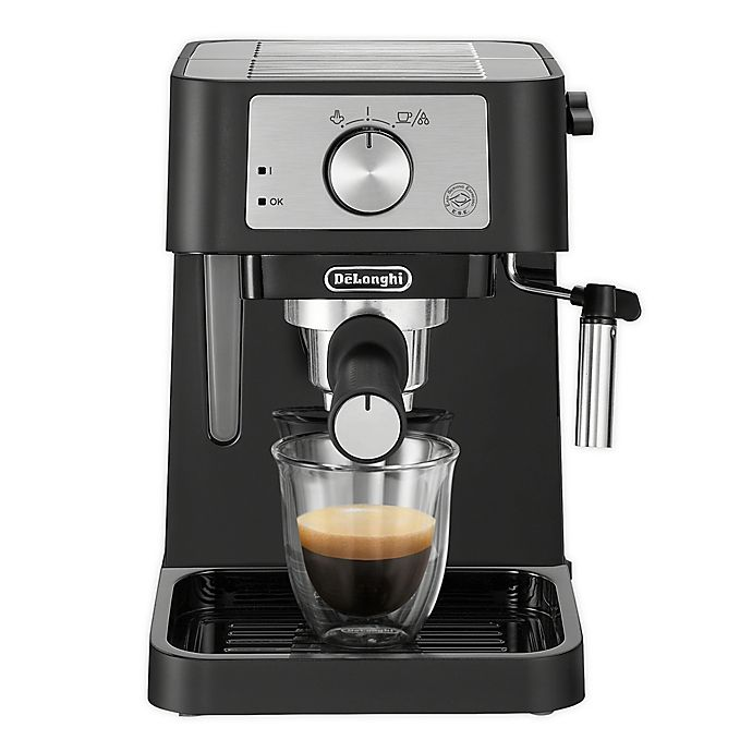 Alternate image 1 for De'Longhi Stilosa Espresso Machine in Black