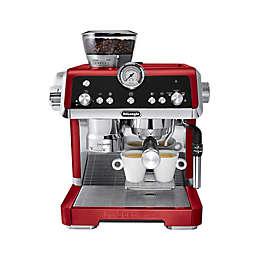 De'Longhi La Specialista Dual Heating Espresso Machine in Red