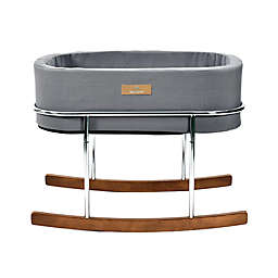 Baby Castle Rocking Cradle Bassinet