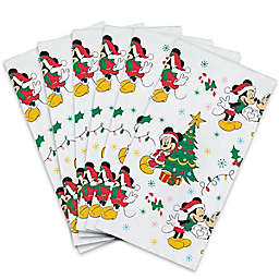 Disney® Mickey & Minnie  20-Count Holiday Paper Guest Towels