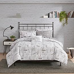 Madison Park Essentials New York 8-Piece Reversible Comforter Set