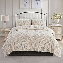 Madison Park Viola 3-Piece King/California King Coverlet Set in Taupe