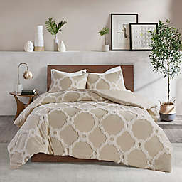 Madison Park Pacey 3-Piece King/California King Comforter Set in Taupe