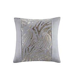 N Natori Dohwa Embroidered Cotton Square Throw Pillow