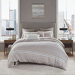 INK+IVY Lennon 3-Piece King/California King Duvet Cover Set in Taupe