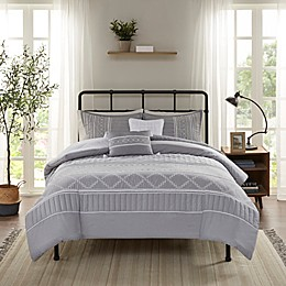 Madison Park Kailee 5-Piece Comforter Set in Grey