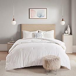 Madison Park Prelude Microsculpt 4-Piece Comforter Set
