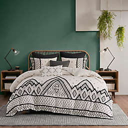 INK+IVY Marta 3-Piece Duvet Cover Set in Natural