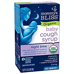 Mommy's Bliss® 1.67 oz. Organic Cough Syrup and Mucus Relief® Night Time Liquid