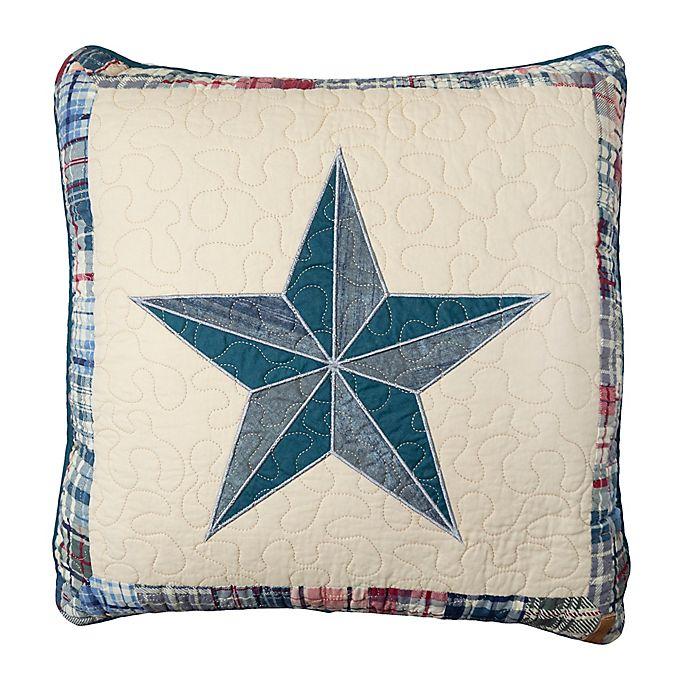 Alternate image 1 for Donna Sharp Austin Star Square Throw Pillow