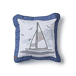 Donna Sharp® Yacht Club Square Throw Pillow in White