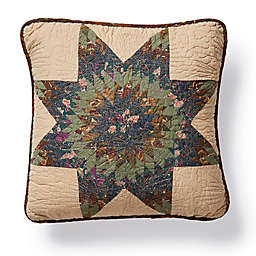 Donna Sharp® Forest Star Square Throw Pillow in Green
