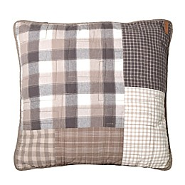Donna Sharp® Smoky Square Throw Pillow in Beige