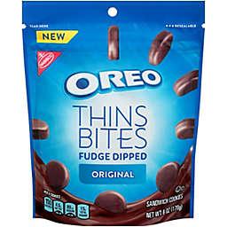 OREO Thins Bites 3.1 oz. Fudge Dipped Chocolate Sandwich Cookies