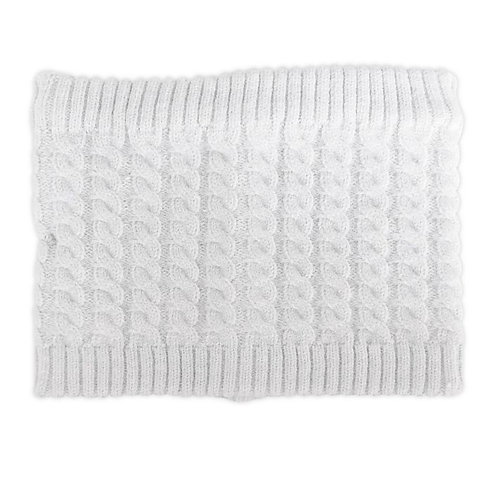 Alternate image 1 for NYGB™ Fisherman Cable Knit Scarf in Cloud Grey