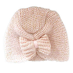 Toby Fairy™ Bow Turban Hat in Light Pink