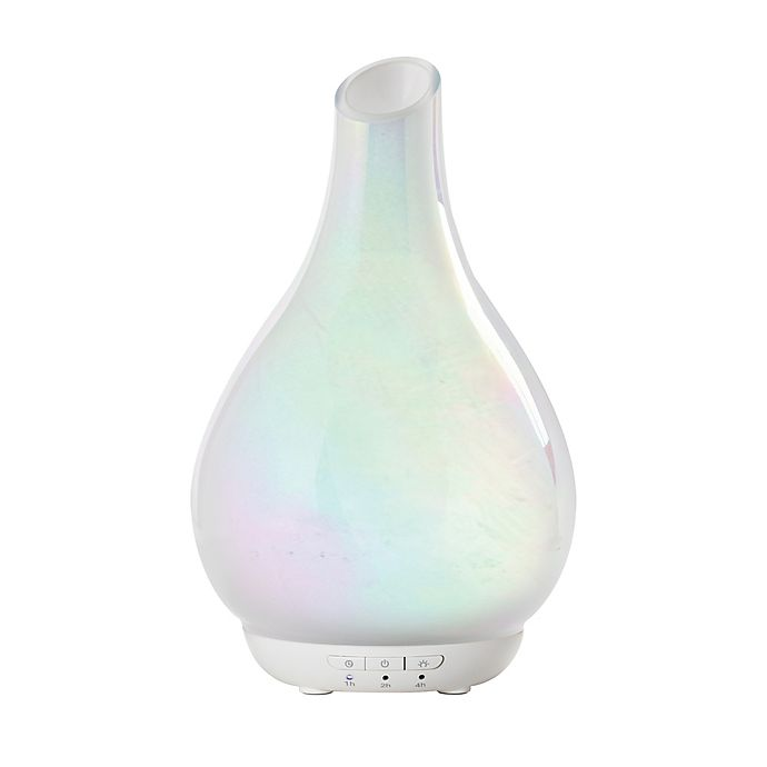 Alternate image 1 for SpaRoom® Bliss Essential Oil Glass Diffuser in Opal