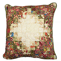 Donna Sharp® Watercolor Irish Chain Rooftile 15-Inch Square Throw Pillow