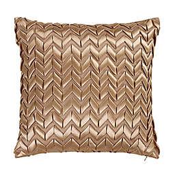 Donna Sharp® Texas Brown Bandana Ribbon Square Throw Pillow in Beige