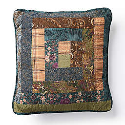 Donna Sharp® Cabin Raising Pinecone Patch Square Throw Pillow