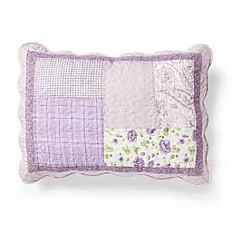 Donna Sharp Lavender Rose Standard Pillow Sham in Purple