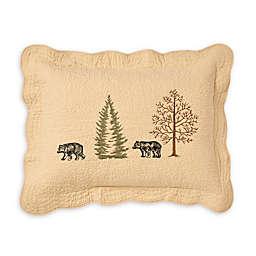 Donna Sharp Bear Creek Standard Pillow Sham in Beige
