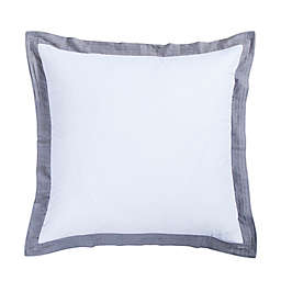 Donna Sharp Vista European Pillow Sham in White
