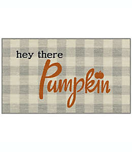 "Tapete decorativo ""Hey There Pumpkin"" color naranja"