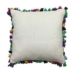 Global Caravan Tasseled Square Throw Pillow